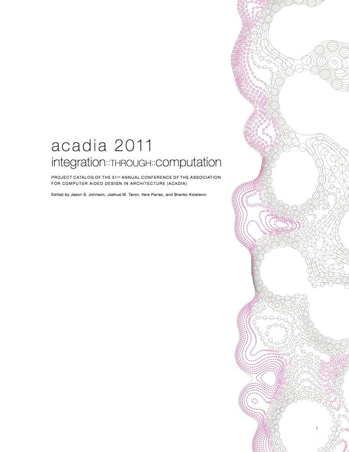 ACADIA Project Catalog
